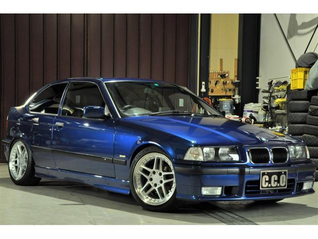 BMW 318ti Mスポーツ ACシュニッツァー17インチアルミ ローダウン