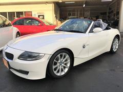 BMW Z4ロードスター2.5i 最終モデル 黒革シート 電動オープン