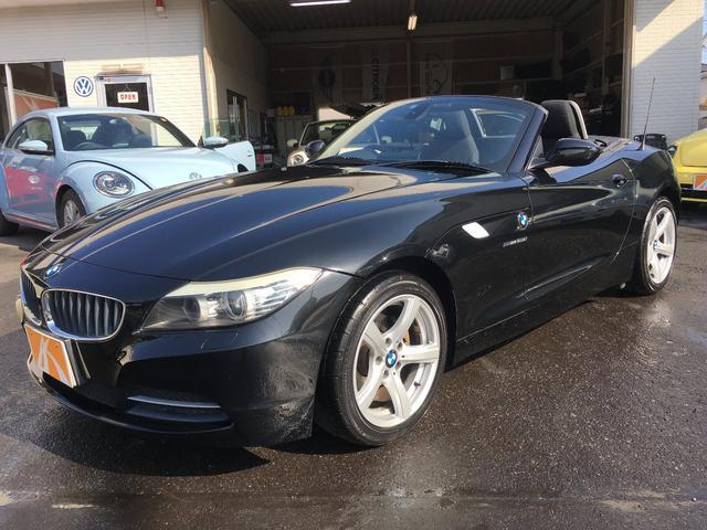 BMW sDrive23i 黒革レザー調シート 純正地デジHDDナビ