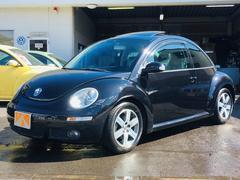 VW ニュービートル2006年後期LZモデル 黒革シート サンルーフ HDDナビ