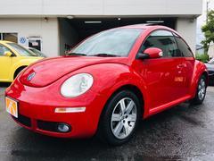 VW ニュービートル2008年最終LZモデル 6AT 黒革シート サンルーフ