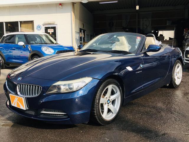 BMW sDrive23i ハイラインパッケージ 電動メタルトップ ベージュインテリア&レザー シートヒーター 純正ナビ ドライブレコーダー ETC 純正アルミ HIDヘッドライト パドルシフト ボディーコーティング済み