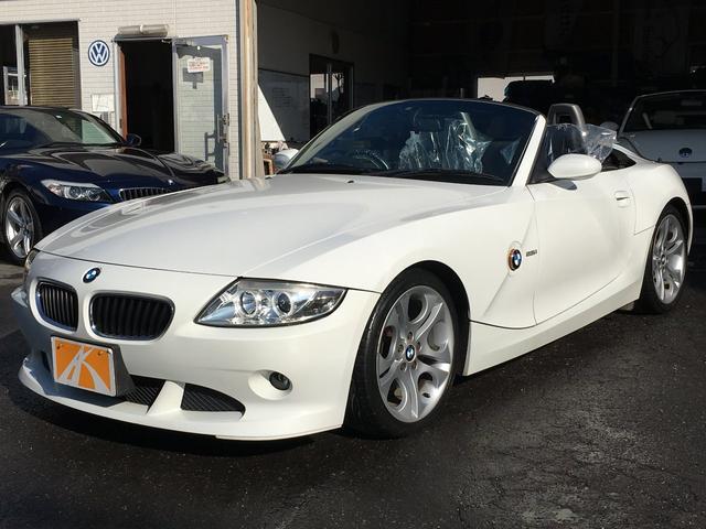 BMW Z4 2.5i 2.5i(2名) ブラックレザー シートヒーター 電動オープン オープンモーター交換済 エアロバンパー 18インチアルミ イカリングヘッドライト キーレス ドライブレコーダー ETC