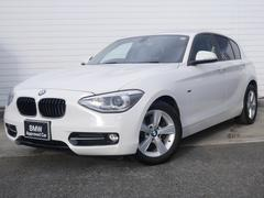 BMW116i スポーツ 1年AC1オナ禁煙認定車