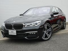 BMW740d xDrive Mスポーツ 2年BPSデモ禁煙認定車