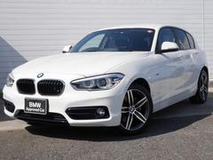 BMW120i スポーツ 1年AC1オナ禁煙認定車