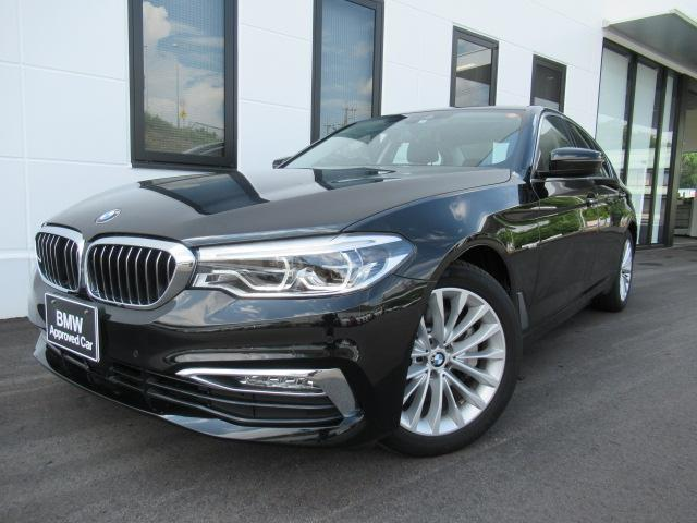 BMW 530iラグジュアリーソリッドブラック18AW認定中古車