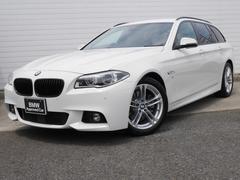 BMW523iツーリング Mスポーツ 1年AC1オナ禁煙認定車