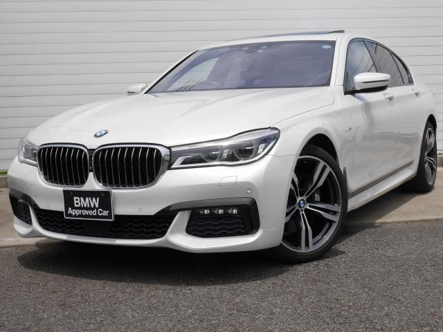 BMW 740i Mスポーツ 1年AC1オナ禁煙認定車