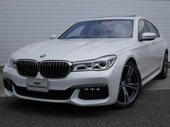 BMW740i Mスポーツ 2年BPSデモカー禁煙認定車