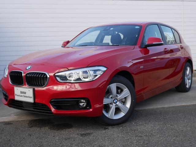 BMW 118d スポーツ 2年BPSデモ禁煙認定車