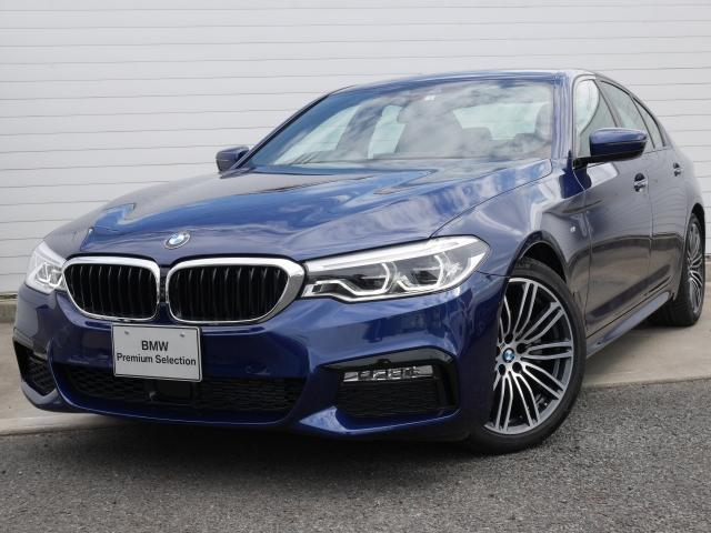 BMW 523d Mスポーツ 1年AC デモ禁煙認定車