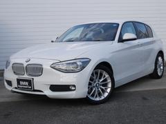 BMW116i ファッショニスタ 1年AC1オナ禁煙認定車