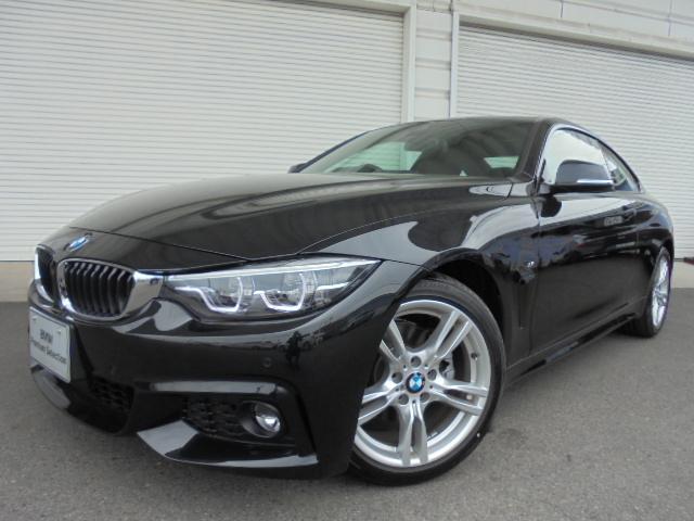 BMW 420iクーペMスポーツLEDヘッドライトデモカー認定中古車