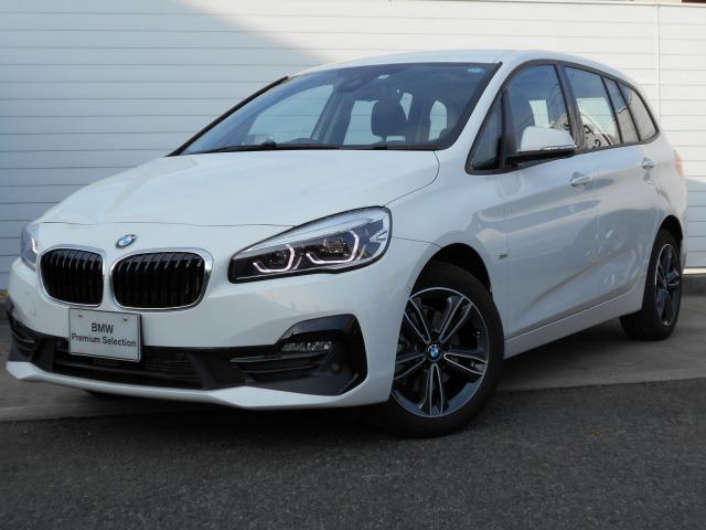 BMW 218dグランツアラー スポーツ2年BPSデモ禁煙認定車