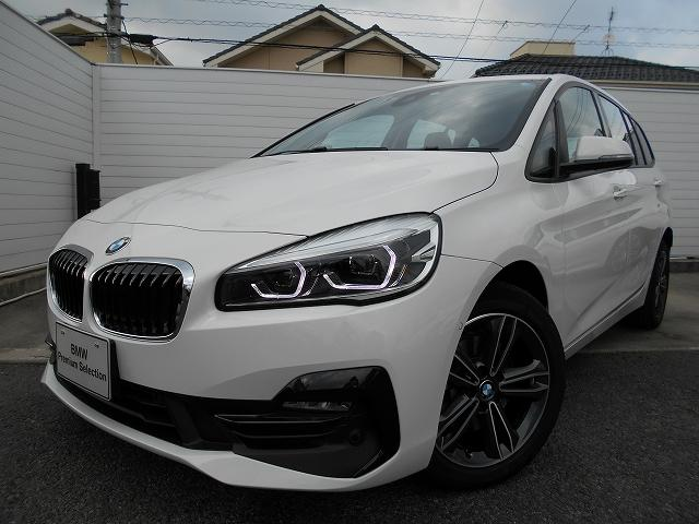 BMW 218dグランツアラー スポーツ 2年BPSデモ禁煙認定車