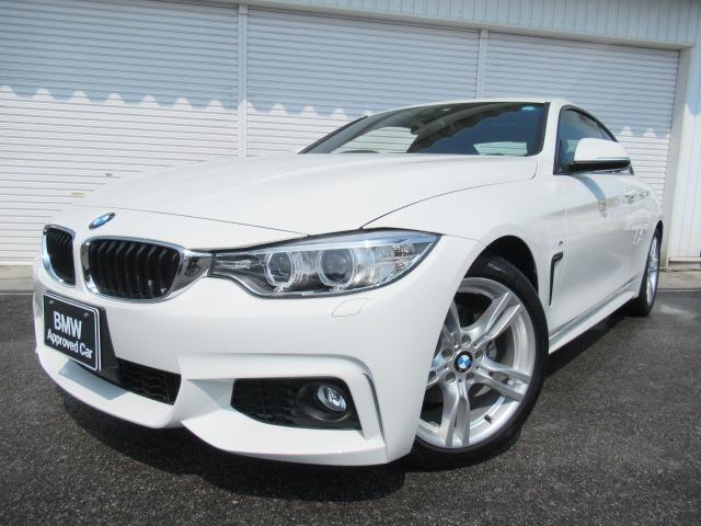BMW 420iクーペMスポーツACC18AW 1オーナー認定中古車