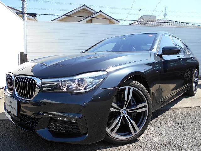BMW 740i Mスポーツ 2年BPSデモ禁煙認定車