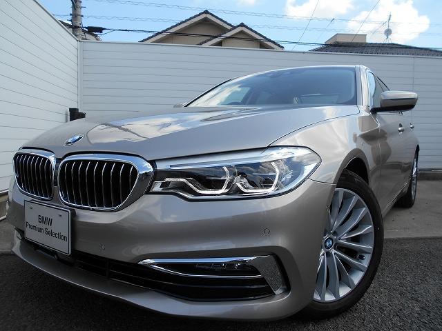BMW 523d ラグジュアリー 2年BPSデモ禁煙認定車