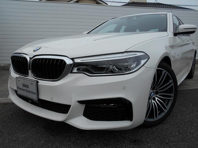 BMW 523dツーリング Mスポーツ 2年BPSデモ禁煙認定車