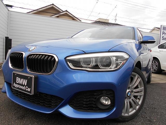 BMW 118i Mスポーツ 1年AC禁煙認定車