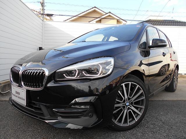 BMW 218dアクティブツアラー スポーツ2年BPSデモ禁煙認定車