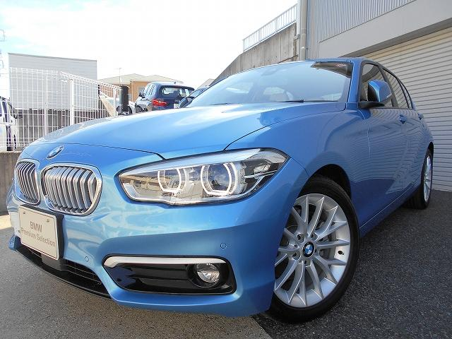 BMW 118d ファッショニスタ 2年BPSデモ禁煙認定車