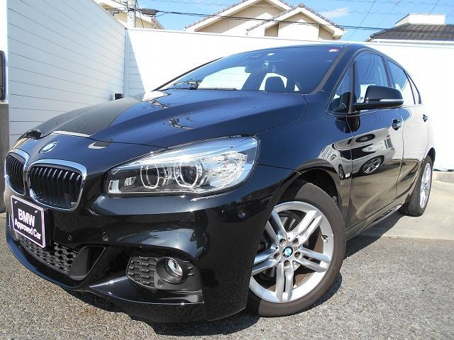 BMW 218dアクティブツアラー Mスポーツ 1年AC禁煙認定車