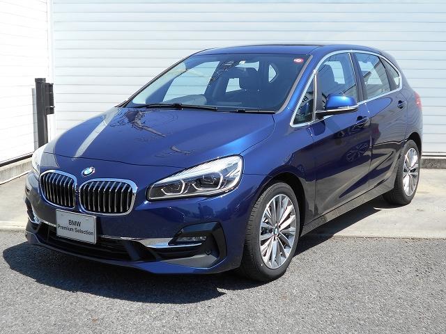 BMW 2シリーズ 218d xDriveアクティブツアラーラグジュアリ認定車