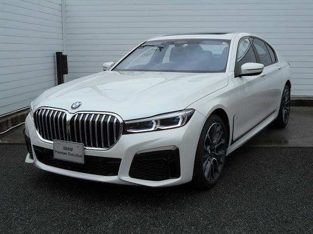 BMW 740d xDrive Mスポーツ 2年BPSデモ認定車