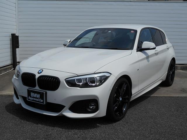 BMW 1シリーズ 118i Mスポーツ エディションシャドー 1年AC1オナ禁煙認定車 18AW茶革ACCPDCコンフォートETC