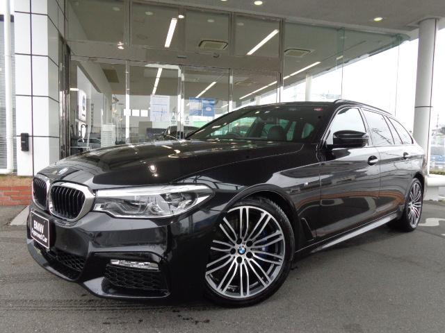 BMW 530iツーリング Mスポーツ 19AW黒革SR衝突軽減地デジACCPアシストドラレコETC 1年AC1オナ禁煙認定車