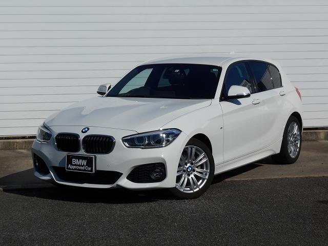 BMW 118d Mスポーツ 17AW衝突軽減クルコンPDCコンフォートpkgLEDETC 1年AC1オナ禁煙認定車