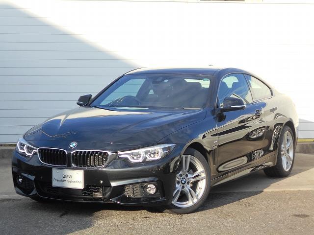 BMW 420iクーペ Mスポーツ 18AW衝突軽減地デジACCPDCETC 2年BPSデモカー禁煙認定車