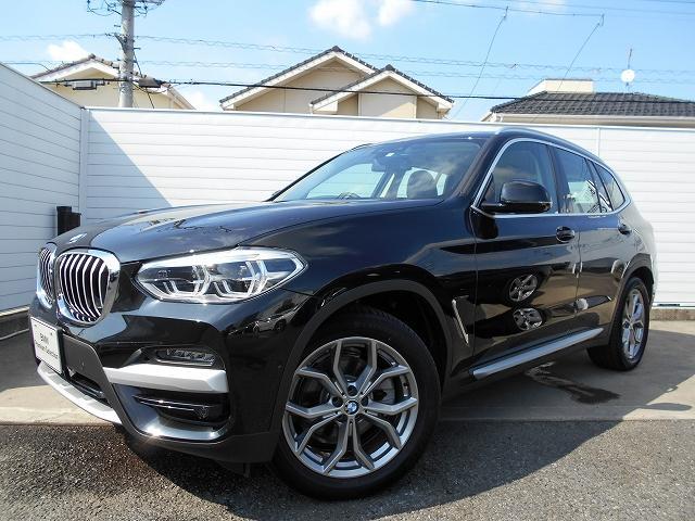 X3(BMW) xDrive 20i Xライン ハイラインパッケージ 19AW黒革衝突軽減地デジACCPアシストET 中古車画像