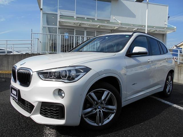 BMW X1 sDrive 18i Mスポーツ 18AWコンフォートPKGシートヒーター禁煙1オーナー認定中古車