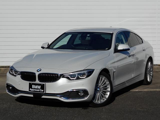 BMW 4シリーズ 420iグランクーペ ラグジュアリー 18AW白革衝突軽減地デジACCPDCETC 1年AC認定車