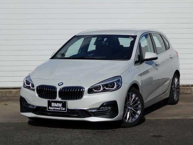 BMW 2シリーズ 218dアクティブツアラー ラグジュアリー 元弊社レンタカー コンフォートパッケージ ブラックレザーシート パーキングサポート 認定中古車