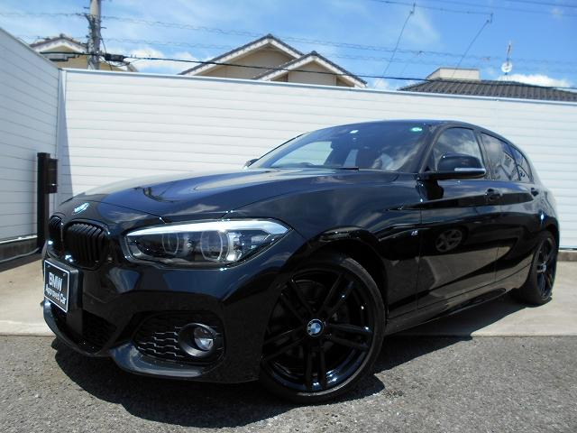 BMW 1シリーズ 118d Mスポーツ エディションシャドー 18AWコニャック革コンフォートPパーキングサポートP社外DTV衝突軽減ACC禁煙1オーナー認定中古車