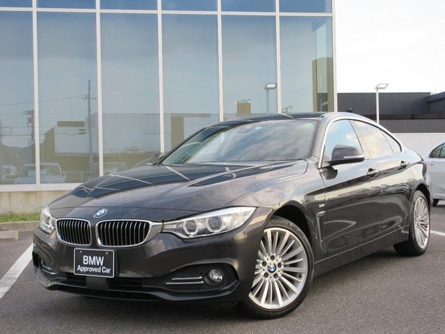 BMW 420i xDriveグランクーペ ラグジュアリー 18AW茶革衝突軽減ACCPDCヘッドアップDSPドラレコETC 1年AC1オナ禁煙認定車