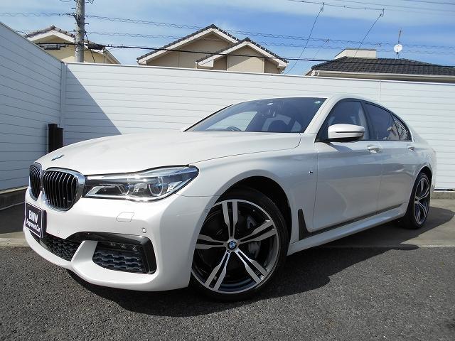 BMW 7シリーズ 740d xDrive Mスポーツ 20AWリアコンフォートPKGモカ革ハーマンカードンHi-Fiドラレコ禁煙1オーナー認定中古車
