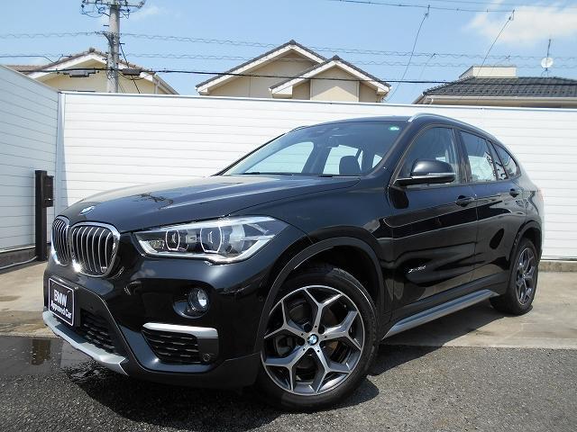 BMW X1 xDrive 18d xライン 18AWコンフォートPKGシートヒーターオートトランク禁煙1オーナー認定中古車