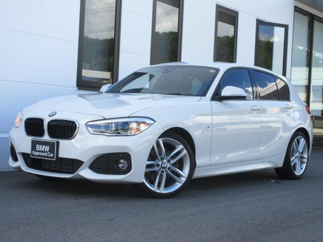 BMW 1シリーズ 118i Mスポーツ コンフォートPKG コンフォートアクセス パーキングサポートPKG 18インチAW 1オーナー禁煙車 1年保証