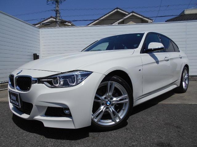 BMW 320d Mスポーツ 18AW衝突軽減ACCPDCLEDヘッドドラレコETC 1年AC1オナ禁煙認定車
