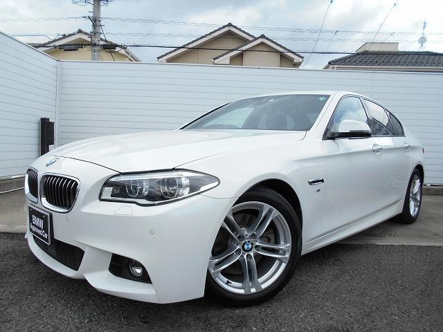 BMW 523i Mスポーツ 18AWハイライン黒革LED社外DTV禁煙1オーナー認定中古車
