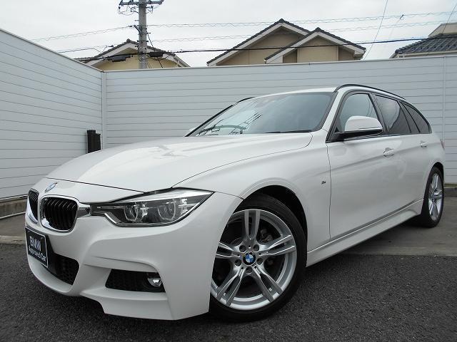 BMW 3シリーズ 320dツーリング Mスポーツ 18AW後期8CエンジンACCレーンチェンジ警告禁煙1オーナー認定中古車