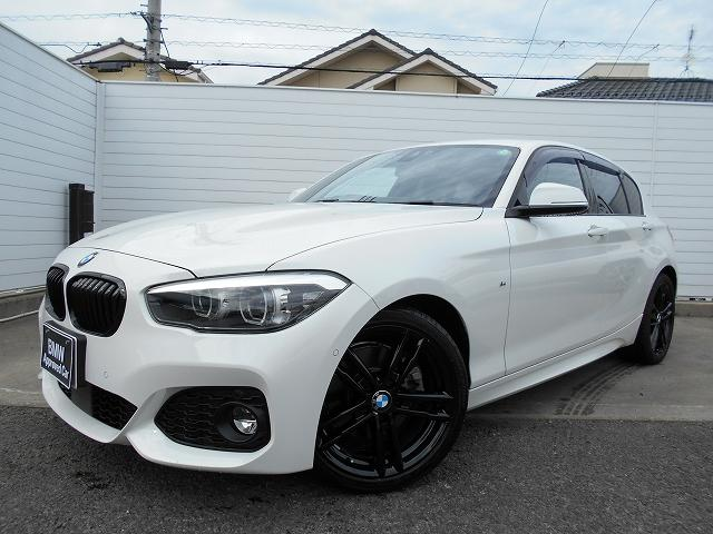 BMW 1シリーズ 118i Mスポーツ エディションシャドー 18AWアップグレードPKG黒革ACCコンフォートPKG禁煙1オーナー認定中古車
