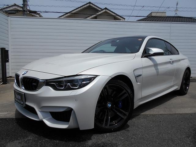 BMW M4クーペ 19AW黒革ハーマンカードンヘッドUPディスプレイドラレコ禁煙1オーナー認定中古車