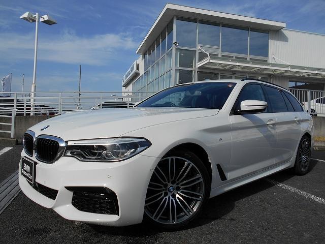 BMW 5シリーズ 523dツーリング Mスポーツ 19AWウッドPヘッドUPディスプレイ禁煙1オーナー認定中古車