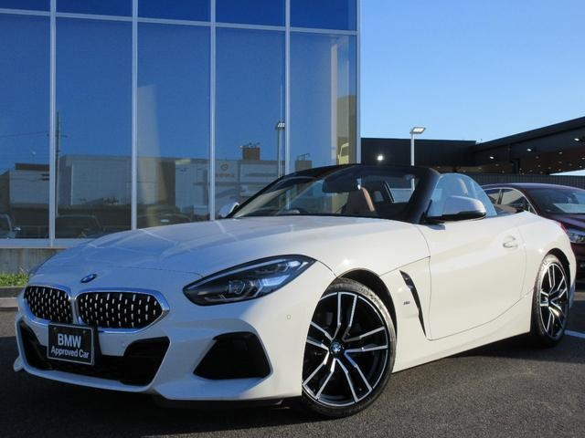 BMW Z4 sDrive20i Mスポーツ 19AWコニャック革LED衝突軽減ACC禁煙1オーナー認定中古車